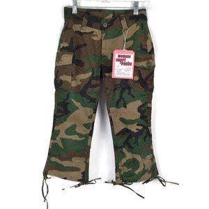 Rothco Low-Rise Stretch Woodland Camo Capri Pants